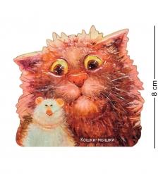 ANG-733 Магнит деревянный  Кошки-мышки