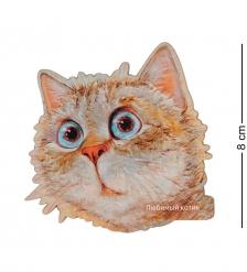 ANG-738 Магнит деревянный  Любимый котик