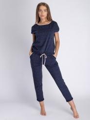 Пижама женская 5310/5, р.084, рост 170, темно-синий с рис. 1391  Serge
