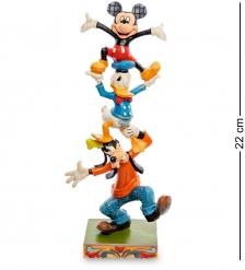Disney-4055412 Фигурка  Гуффи, Микки Маус и Дональд Дак- качающаяся башня