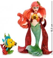 Disney-6000818 Фигурка  Ариэль и Флаундер  С Рождеством!