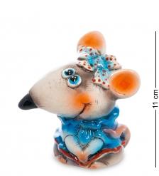 АБ-53 Фигурка керамическая  Мышка с бантом