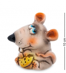 АБ- 54 Фигурка керамическая  Мышка с сыром