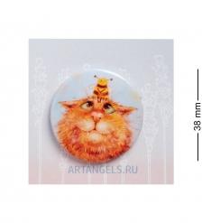 ANG-784 Закатный значок  Весна