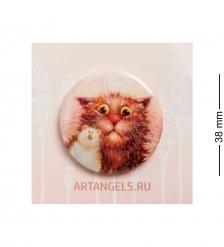 ANG-785 Закатный значок  Кошки-мышки