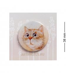 ANG-786 Закатный значок  Любимый котик
