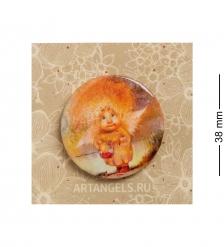ANG-794 Закатный значок  Ангел сладкой жизни