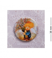 ANG-800 Закатный значок  Подарю тебе счастье