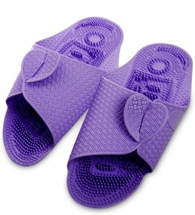MSG-03/04-L Массажные тапочки фиолетовые
