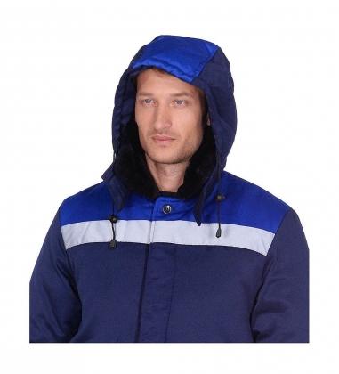 ЯЛ-02-19 Куртка зимняя, р.44-46, рост 170-176, т.синий/василек