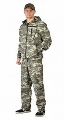 ЯЛ-02-28 Костюм куртка/брюки, р.44-46, рост 182-188, кмф светло-серый