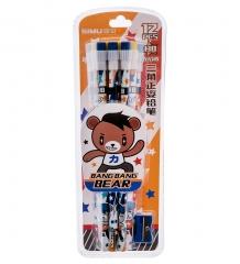 BX-144/3 Набор карандашей  Зверята