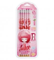 BX-141/4 Набор карандашей  Принцесса