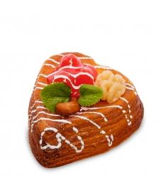 QS-29/4 Пирожное «Ягодный бисквит»  имитация, магнит