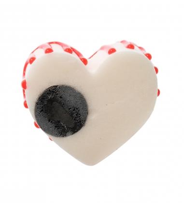 QS-31/6 Пирожное Сладкое сердце  имитация, магнит