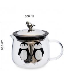 GS-36/2 Чайник заварочный «Зверюшки» 600мл