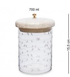 GS-57/2 Банка для сыпучих «Птичий ансамбль» 700мл