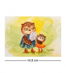 SZ-286 Почтовая открытка  Мой птенчик