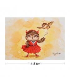 SZ-298 Почтовая открытка В каждой девушке есть изюминка