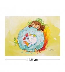 SZ-303 Почтовая открытка Прекрасная мечта