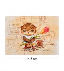 SZ-306 Почтовая открытка «Цветок от всего сердца»