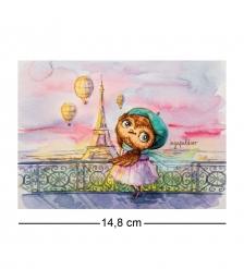 SZ-307 Почтовая открытка «Париж - это страсть!»