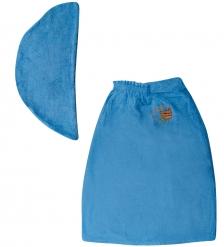 ЯЛ-10-03/ 6 Полотенце женское синее