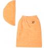 ЯЛ-10-03/ 7 Полотенце женское персиковое