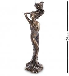 WS-967 Статуэтка-подсвечник «Девушка с огненными волосами»