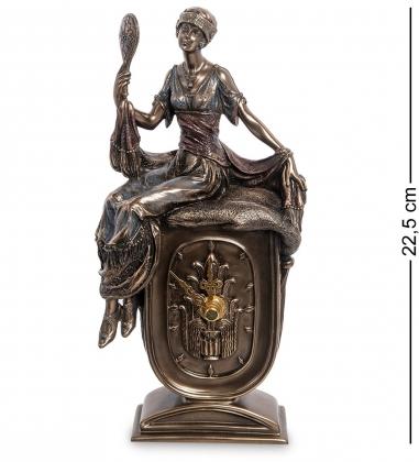 WS-972 Статуэтка-часы «Девушка с зеркалом»