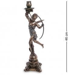WS-978 Статуэтка-подсвечник «Диана - богиня охоты, женственности и плодородия»