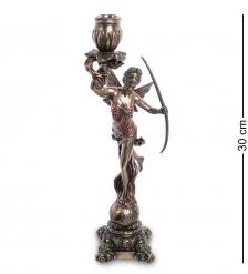 WS-979 Статуэтка-подсвечник  Диана - богиня охоты, женственности и плодородия
