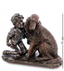 WS-989 Статуэтка «Мальчик с собакой»