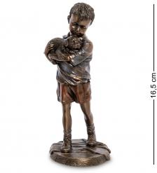 WS-991 Статуэтка «Мальчик со щенком»