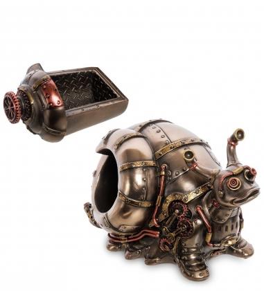 WS-1060 Статуэтка-шкатулка в стиле Стимпанк Улитка