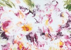 HBK-01 Картина флюид-арт  Цветы