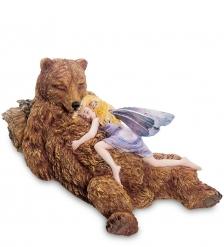 GA-97 Статуэтка «Маленькая фея с медведем»