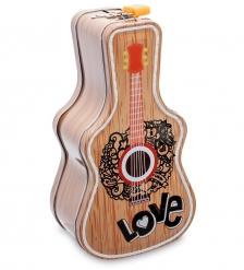 BX- 35/3 Металлическая копилка «Гитара»