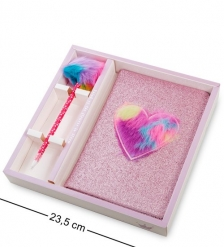 NB-25/2 Блокнот с ручкой Для принцесс