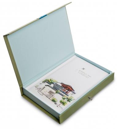 NB-56/2 Блокнот «Записки путешественника»  в коробке с замком
