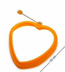 BK-129/2 Силиконовая форма  Сердце