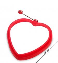 BK-129/3 Силиконовая форма  Сердце