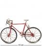 VL-17/1 Фигурка-модель 1:10 Велосипед шоссейник Racing Bike красный