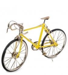VL-17/3 Фигурка-модель 1:10 Велосипед шоссейник Racing Bike желтый