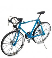 VL-19/2 Фигурка-модель 1:10 Велосипед гоночный Roadbike голубой