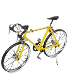 VL-19/3 Фигурка-модель 1:10 Велосипед гоночный Roadbike желтый