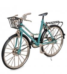 VL-06/1 Фигурка-модель 1:10 Велосипед женский Torrent Ussury голубой