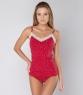 Комплект белья женский 3508/3, р.088, рост 170, бордовый с рис. 2467А  Serge