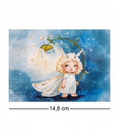 SZ-351 Почтовая открытка Волшебство в сердце
