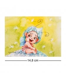 SZ-359 Почтовая открытка «Эльф исполняющий желания»
